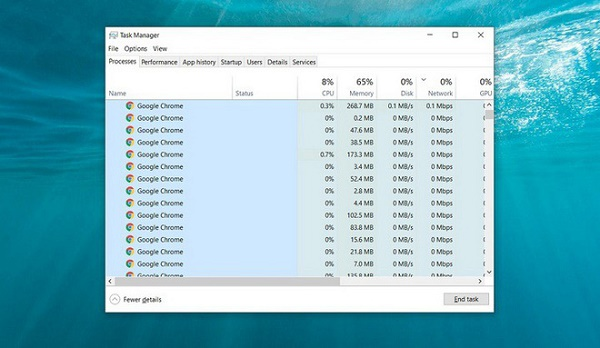 chrome-memory-usage